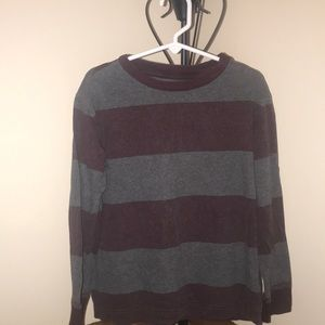 Boys long sleeve striped top